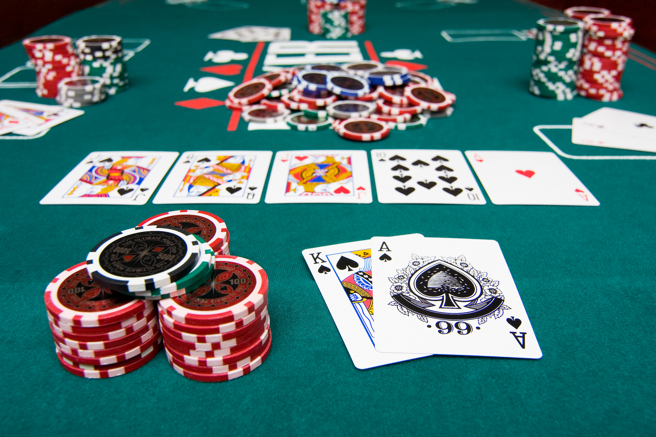 What does insurance mean when playing blackjack
